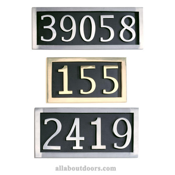 Address Plaques & Numbers