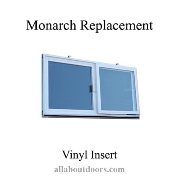 C 400a M Monarch Vinyl Dual Pane Glass, Monarch Basement Window Insert