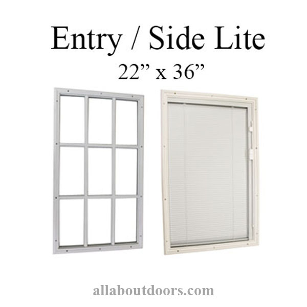 Therma Tru Door Glass Inserts Entry Sidelites Frames