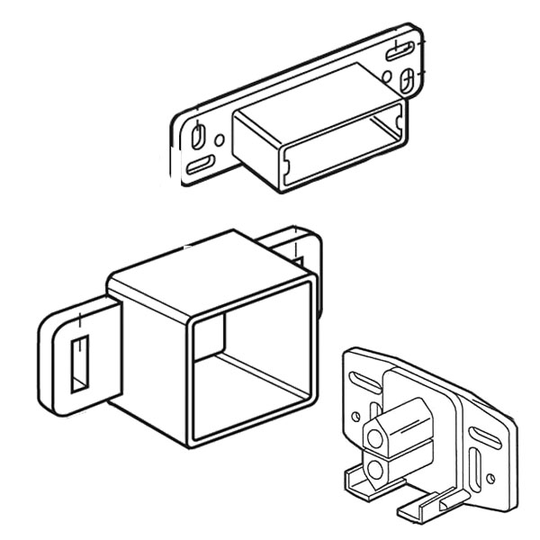 Cabinet and Drawer Track Parts