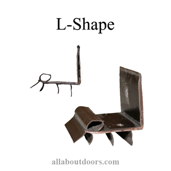 L-Shape Door Sweeps