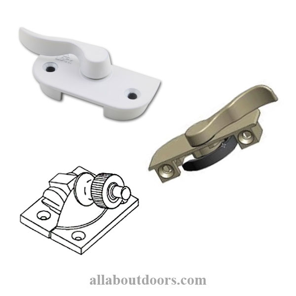 2 Hole Sash Locks & Latches (1-17/32 - 1-31/32 inch)