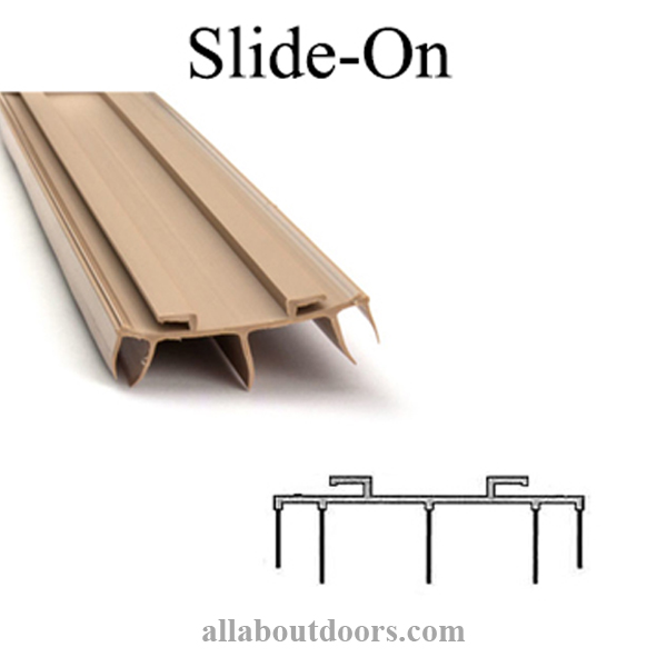 Slide-On Door Sweeps