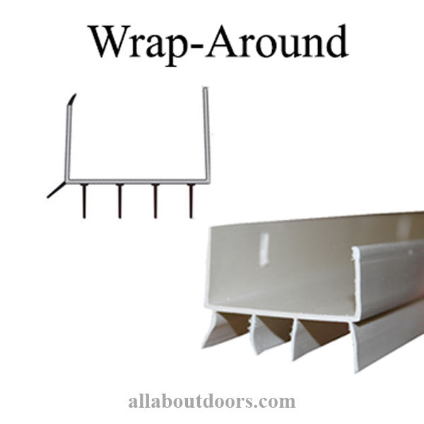 Wrap-Around U-Shaped Door Bottom