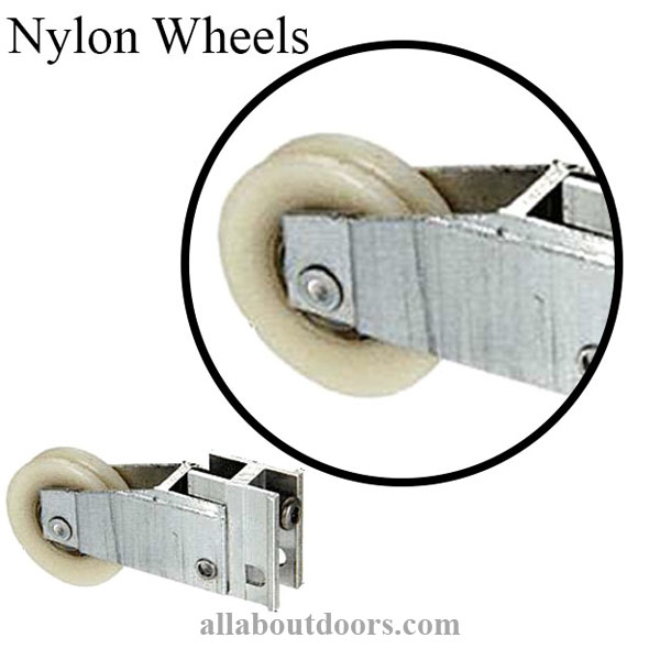 Nylon Single Roller Assemblies-Misc