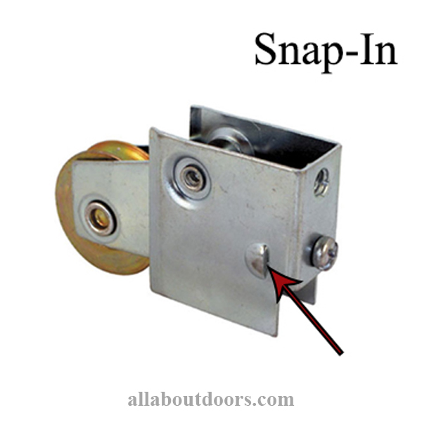 Snap-In Locking Tab Rollers