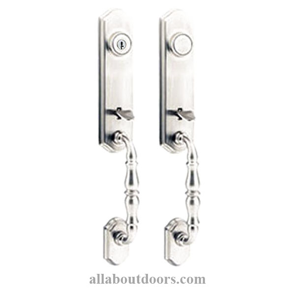 2 Double Door Entrance Handlesets