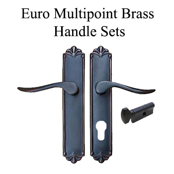 Traditional Brass Handlesets