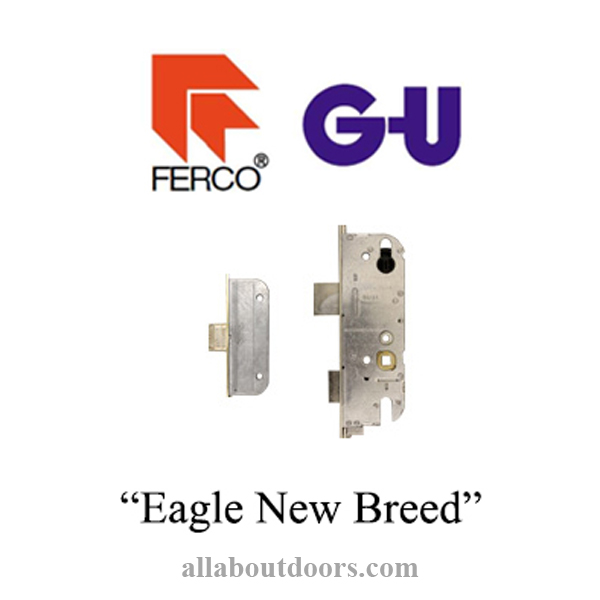 GU NEW BREED Multipoint Lock-Eagle with Latch Bolts