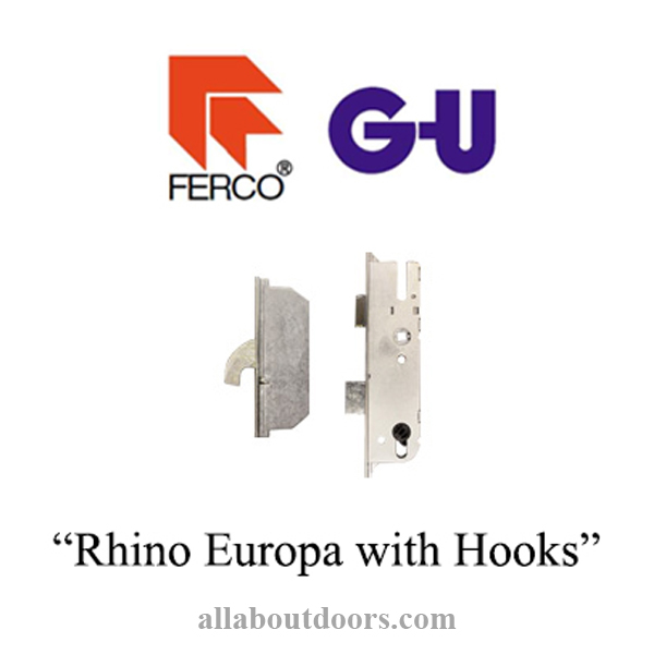 GU EUROPA Multipoint Lock-Rhino with Hooks