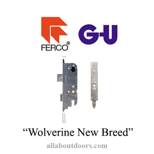 GU NEW BREED Multipoint Lock-Wolverine with Shootbolts