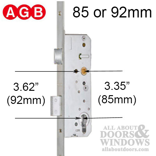 AGB Multipoint Lock Hardware
