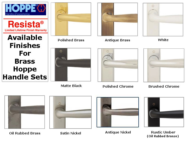 Hoppe Sliding Door Handles