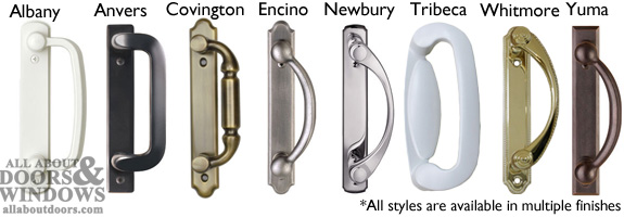 This Article Pertains To Andersen Handlesets And Locks On The Following Gliding Doors