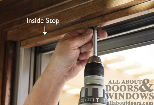 How To Replace The Rollers In An Andersen Gliding Door
