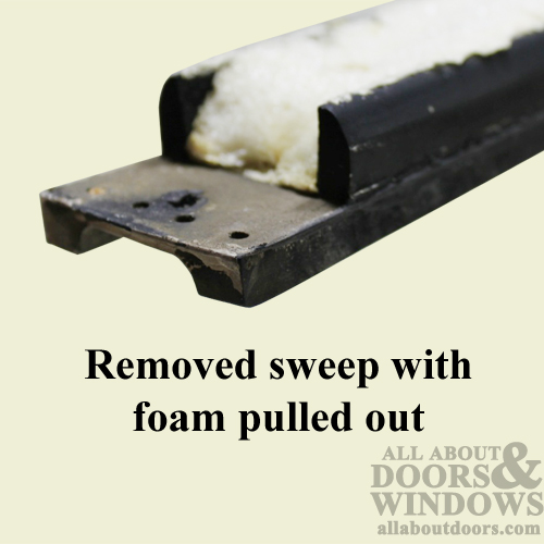 How To Replace The Sweep On A Peachtree Avanti Entry Door