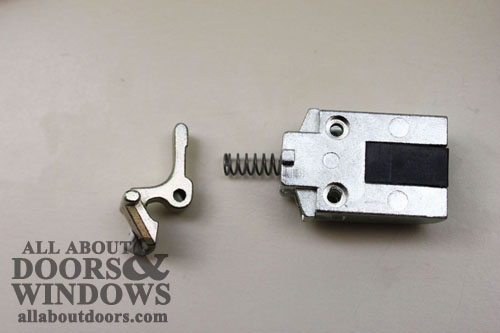 Changing the handing on a commercial mortise deadlatch for 007 door locks