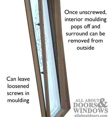 Replacing Glass Surrounds In Door Sidelites Door Lites And Transoms