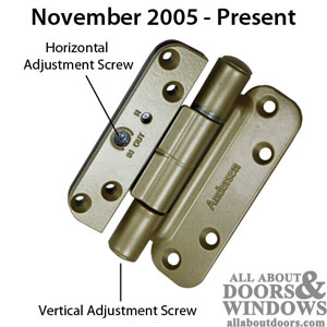 Identifying Andersen Frenchwood Door Hinges