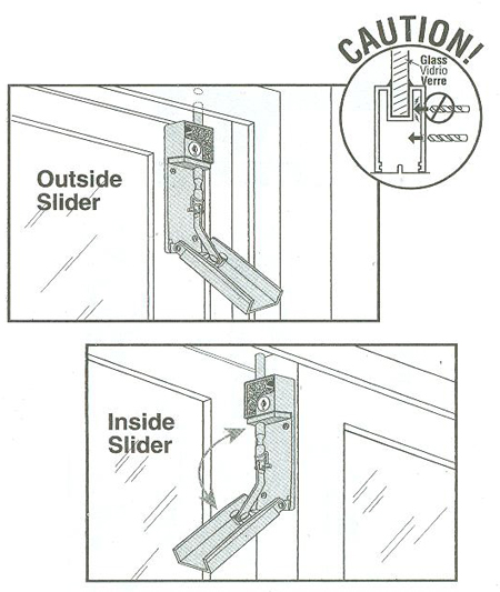 How To Install A Sliding Patio Door Bolt Lock