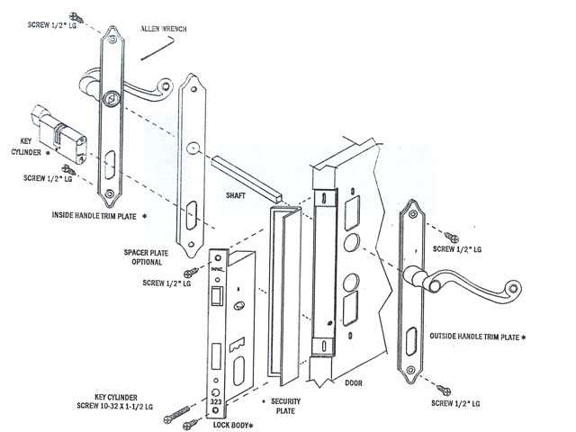Diagrams Of A House Lock - Schematics Wiring Diagrams •