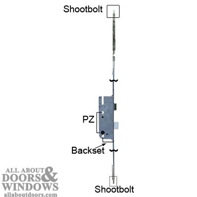 How to open a Pella 3-Point Lock Door (Stuck Closed in