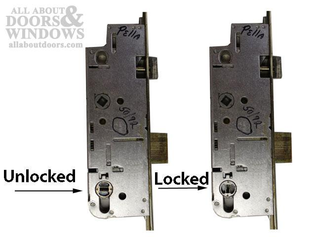 How To Open A Pella 3 Point Lock Door Stuck Closed In Locked