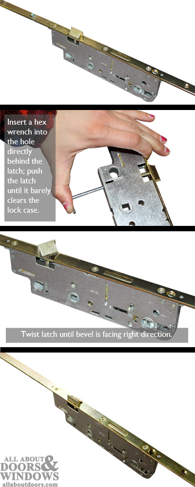 how to rehand a gu ferco multipoint lock. Black Bedroom Furniture Sets. Home Design Ideas