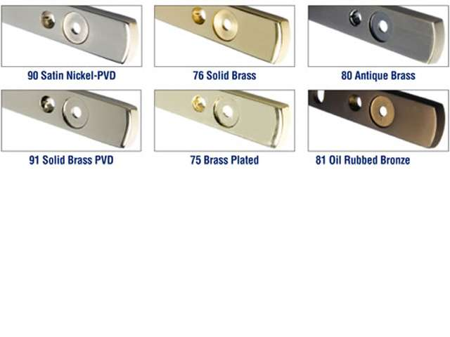 Sash Control Colors Available