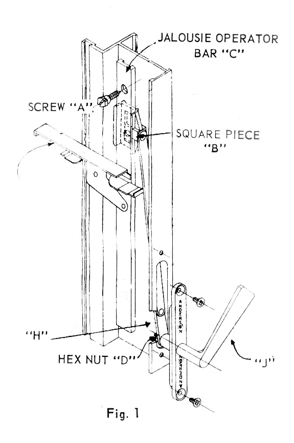 Installation Instructions For Anderson Jalousie Windows And How To