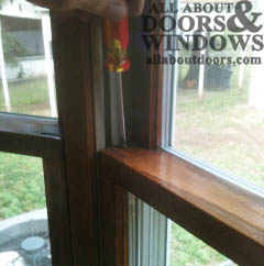 Replacing The Balances In Peachtree Ariel Double Hung Non