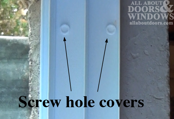 screw hole covers