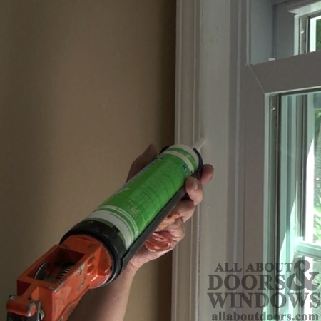 interior exterior caulk window install of caulking sills replacement windows to how