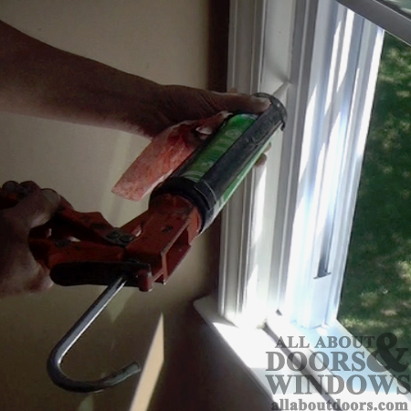 prettyhandygirl cutting comwp interior caulking sills window on pool set lg alluring fresh the pict decoration