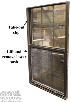 Replacing A Channel Balance In An Aluminum Or Vinyl Window