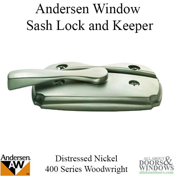 Andersen Woodwright Double Hung Windows Sash Lock Amp Keeper