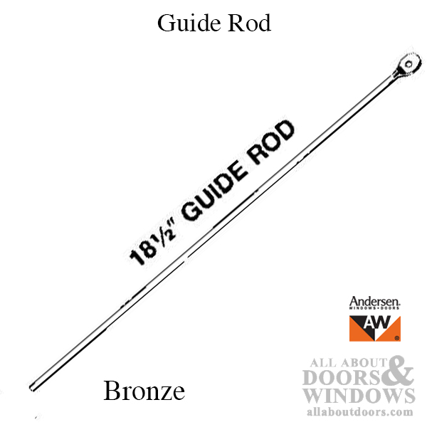 Discontinued Guide Rod 18 1 2 Inch Andersen Awning And