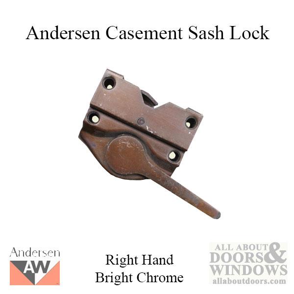 Sash Lock Andersen Casement 1936 60 Rh Bright Chrome