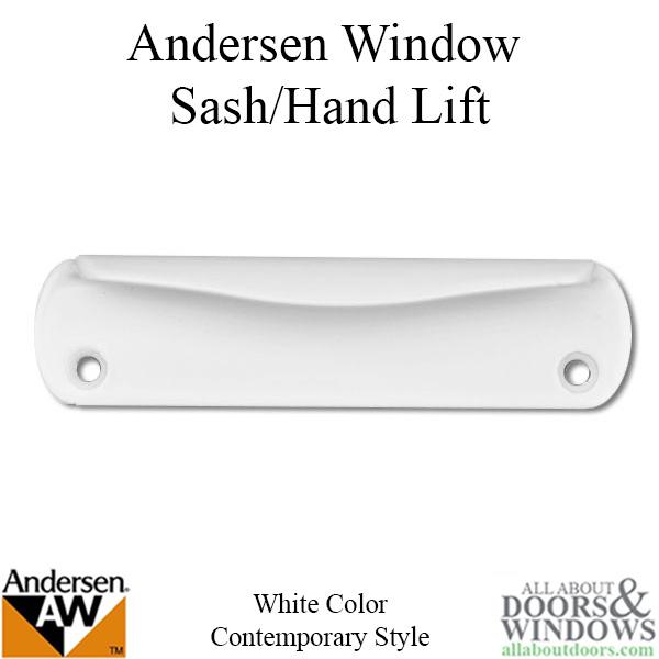 Andersen Contemporary Hand Lift 200 Series Plastic White