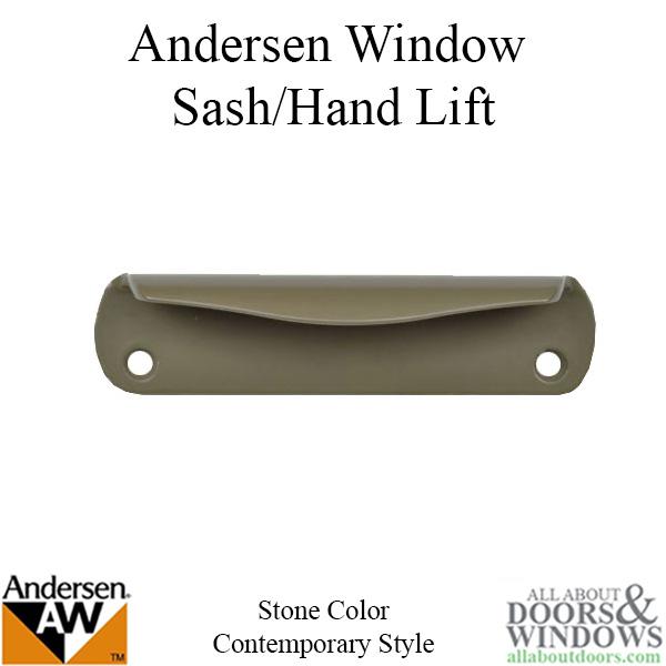Andersen Contemporary Hand Lift 200 Series Plastic Stone