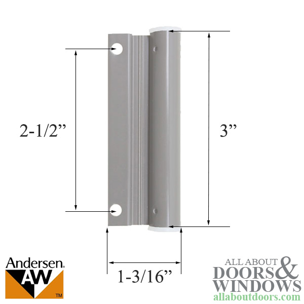 Upper Screen Door Hinge Leaf Sandstone