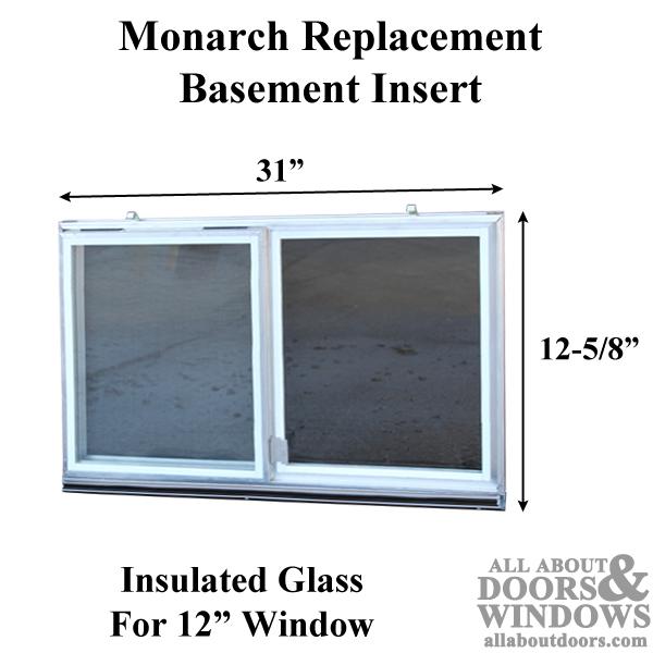 Monarch C 310a 12 Aluminum Basement Window Insert Dual