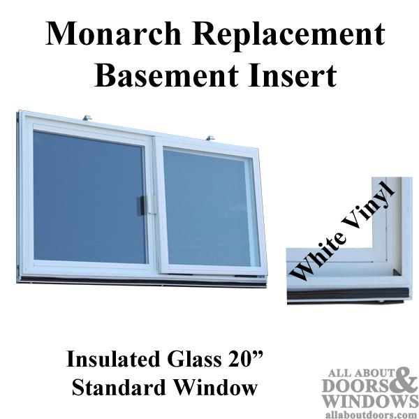 Basement Windows C 400a M Monarch Vinyl Dual Pane Glass