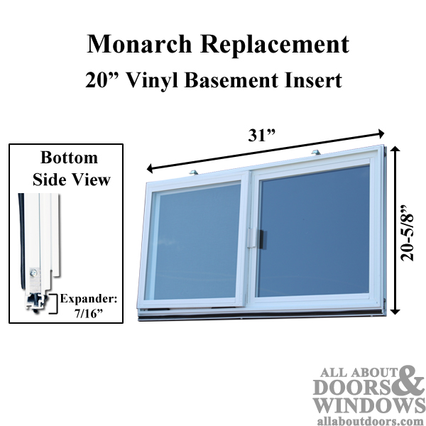 Monarch Replacement Basement Window
