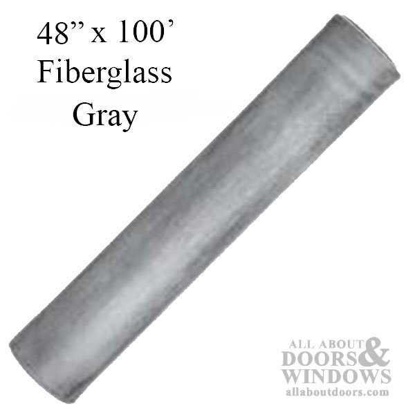 48 Quot X 100 Fiberglass Insect Screen Material Gray
