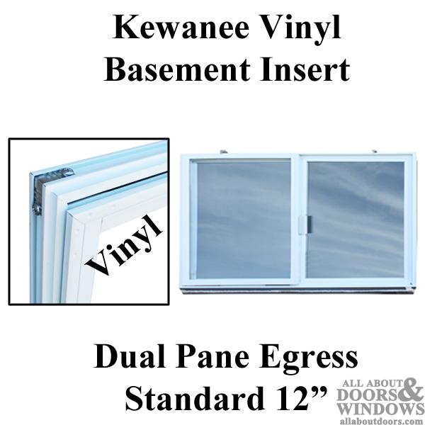 Basement Windows C 400a K Kewanee Vinyl Dual Pane Glass