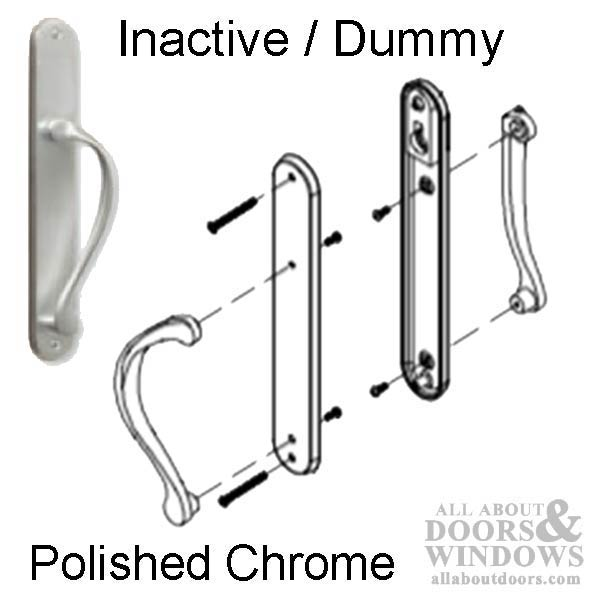 Storm Door Handle With Thumb Turn