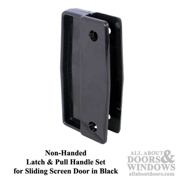 Non Handed Latch Amp Pull Handle Set For Sliding Screen Door