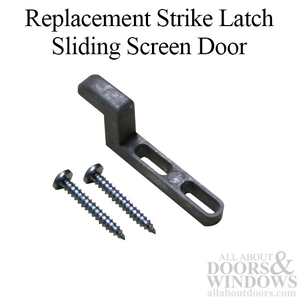 Replacement Strike Latch For Sliding Screen Door Latch Set