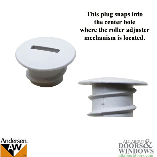 Hole Plug Andersen Psii Gliding Doors Tandem Roller